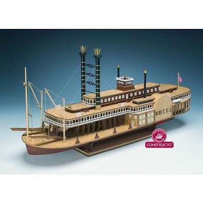 maquette bateau en bois robert e lee constructo construction. Black Bedroom Furniture Sets. Home Design Ideas