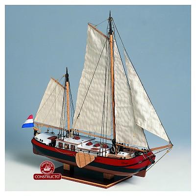 maquette bateau en bois silhouet constructo rue des maquettes. Black Bedroom Furniture Sets. Home Design Ideas