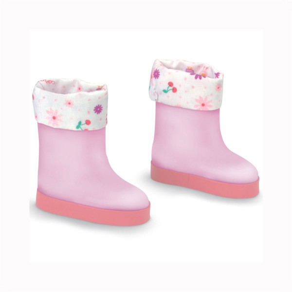 Chaussure Les chéries : Bottes roses - Corolle-BLW63-2