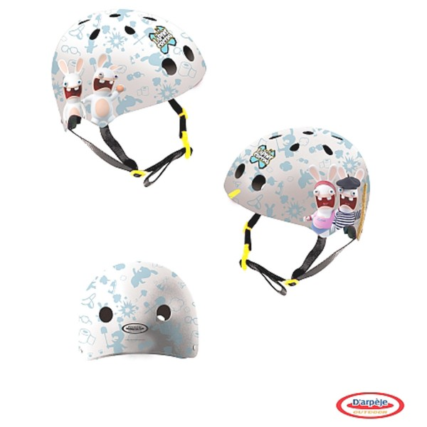 Casque bol Lapins Crétins taille S - Darpeje-OLAP175