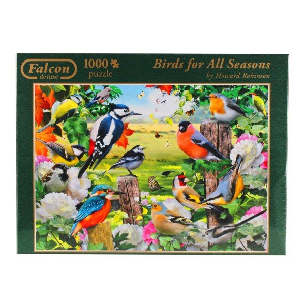 Puzzle 1000 pièces : Birds for All Seasons - Diset-11025