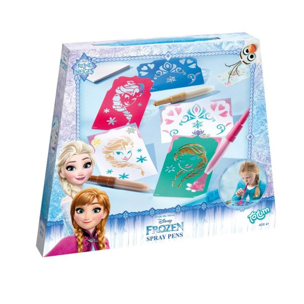 Feutres La Reine des Neiges (Frozen) : Spray Pens - Totum-BJ680241