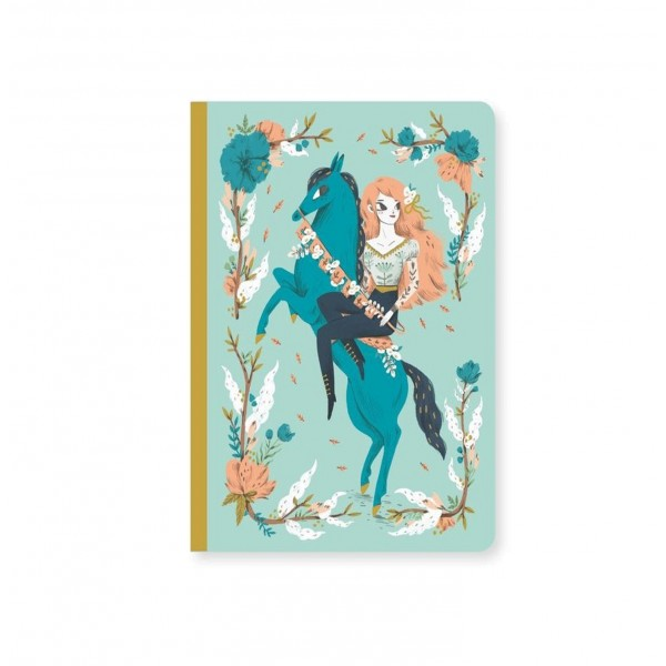 Carnet - notebook Lucille by Lucille Michielli - Djeco-DD03552