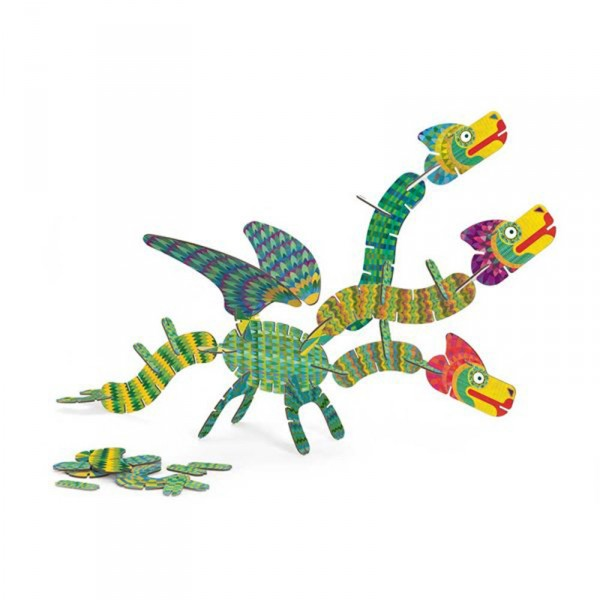 Jeu de construction : Volubo Dragon - Djeco-DJ05632