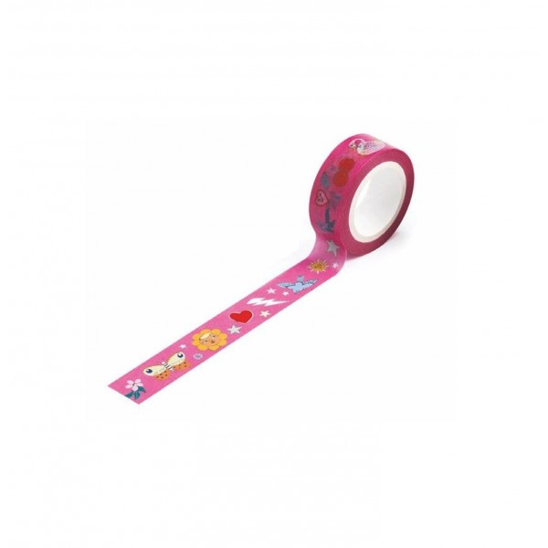 Masking tape : Lovely Paper - Rosie Wonders - Djeco-DD03637