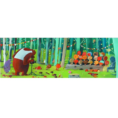 Puzzle 100 pièces - Gallery : Forest Friends - Djeco-07636