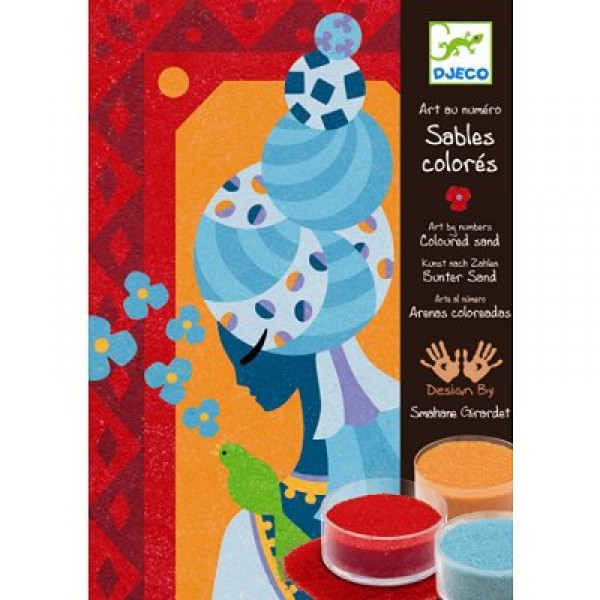 Sables colorés : Princesses bleues - Djeco-DJ08637