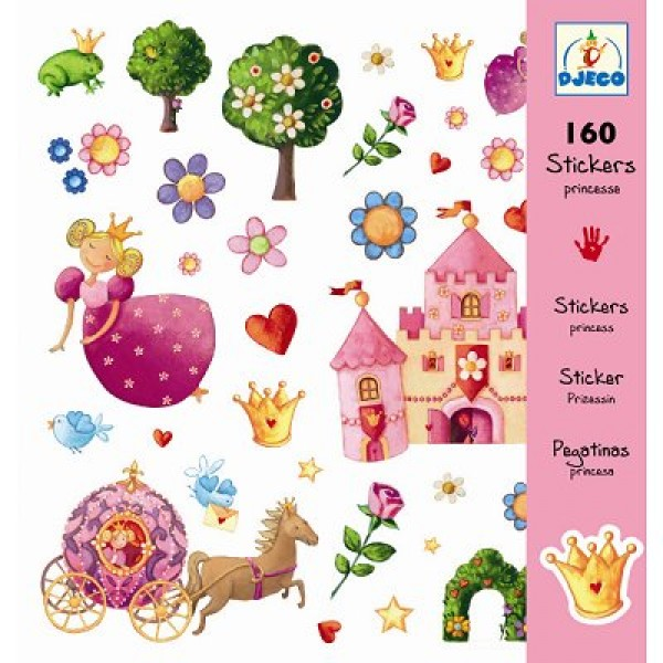 Stickers Princesse Marguerite - Djeco-DJ08830