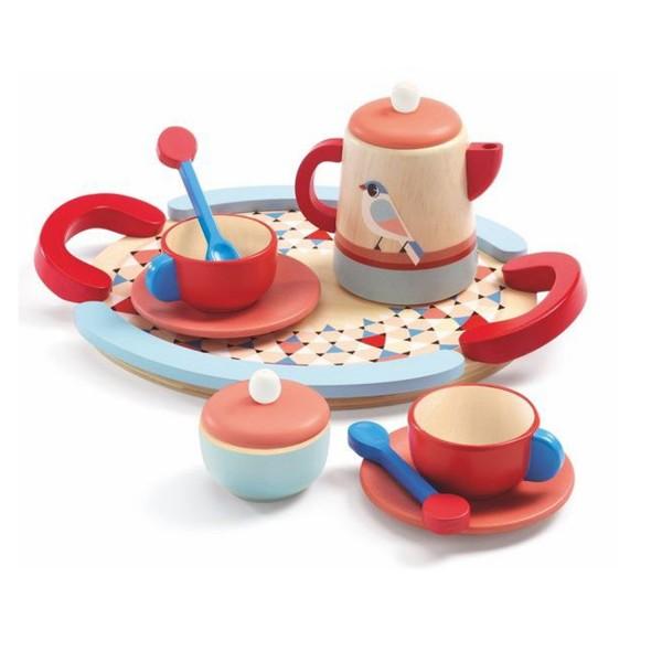 d nette en bois tea time jeux et jouets djeco avenue. Black Bedroom Furniture Sets. Home Design Ideas