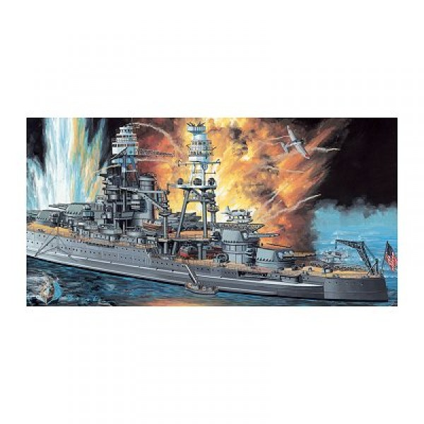 Maquette bateau : U.S.S. Arizona BB-39 1941  - Dragon-7053