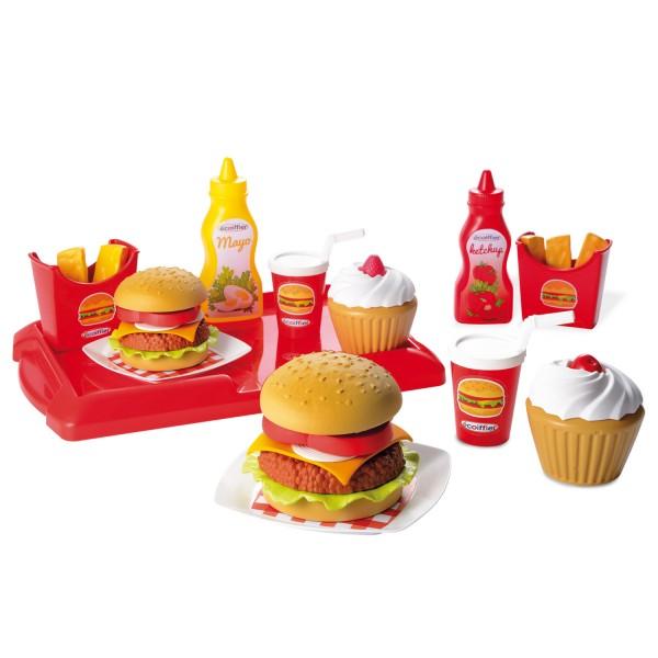 D nette cuisine 100 chef hamburger jeux et jouets - Cuisine ecoiffier 18 mois ...