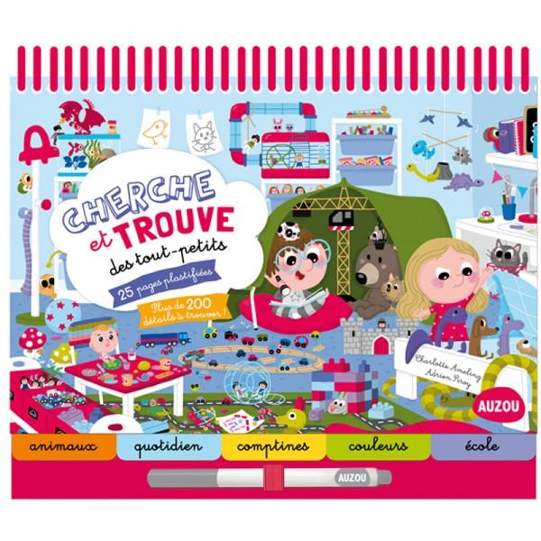 livre ducatif cherche et trouve des tout petits jeux et jouets editions auzou avenue des jeux. Black Bedroom Furniture Sets. Home Design Ideas