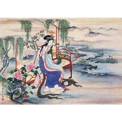 Puzzle 2000 pièces - Art chinois : Chinois musicien - Ricordi-3001N27008