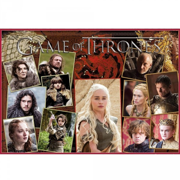 Puzzle 1500 pièces : Game of Thrones : Stark vs Lannister - Educa-17125