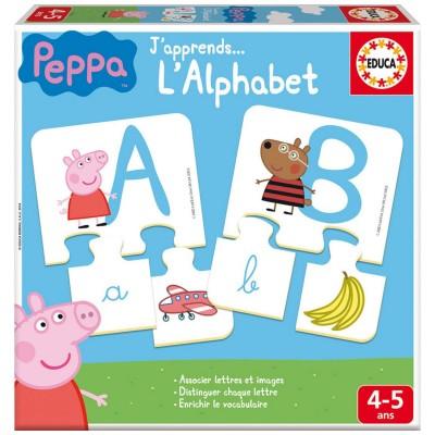 J 39 apprends l 39 alphabet peppa pig jeux et jouets educa avenue des jeux - Fusee peppa pig ...