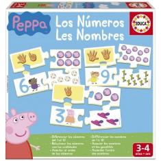 Eduludo bingo chiffres 1 2 3 jeux et jouets djeco avenue des jeux - Fusee peppa pig ...