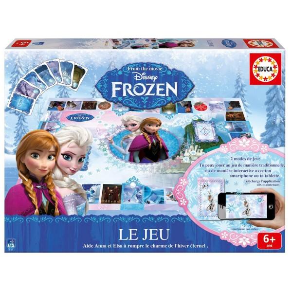 Jeu la reine des neiges frozen jeux et jouets educa avenue des jeux - Jeux gratuit de reine des neige ...