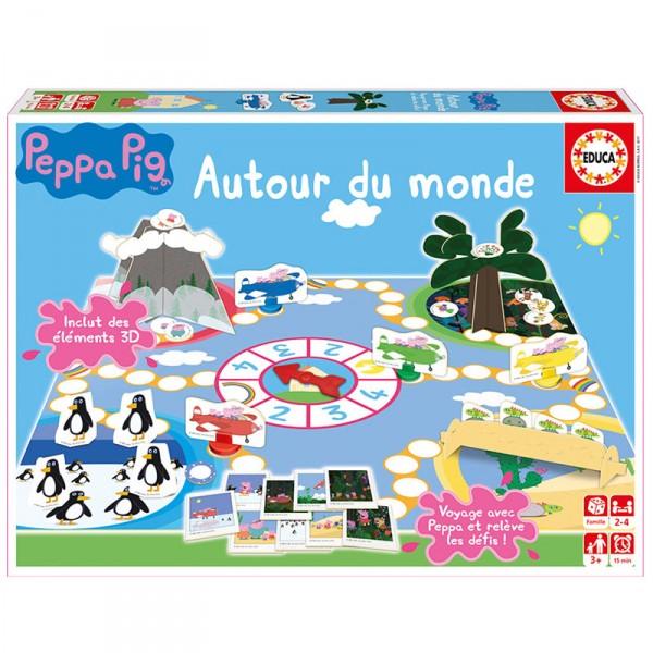 Jeu peppa pig autour du monde jeux et jouets educa avenue des jeux - Fusee peppa pig ...