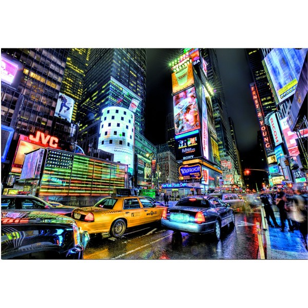 Puzzle 1000 pièces : Times Square, New York - Educa-15525