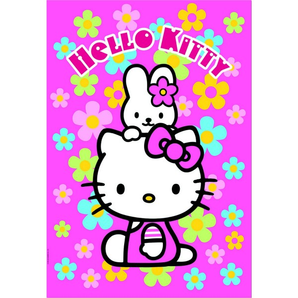 Puzzle 1000 pièces - Hello Kitty - Educa-14455
