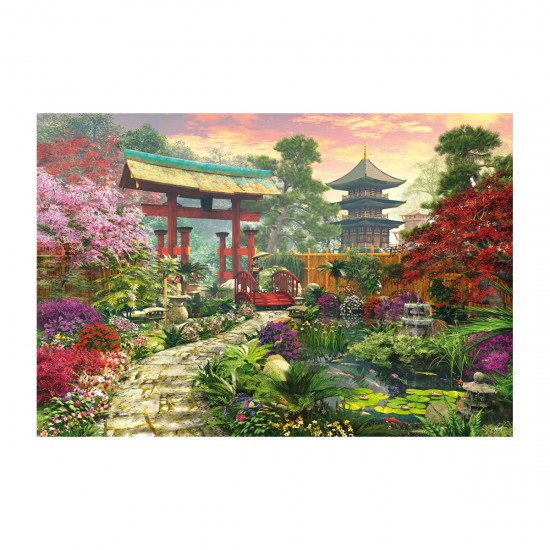 puzzle 3000 pi ces jardin japonais puzzle educa rue des puzzles. Black Bedroom Furniture Sets. Home Design Ideas