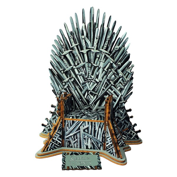 Puzzle 3D en bois : 56 pièces : Game of Thrones - Educa-17207