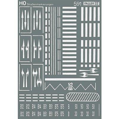 Modélisme HO : Accessoires de décor : Signalisation