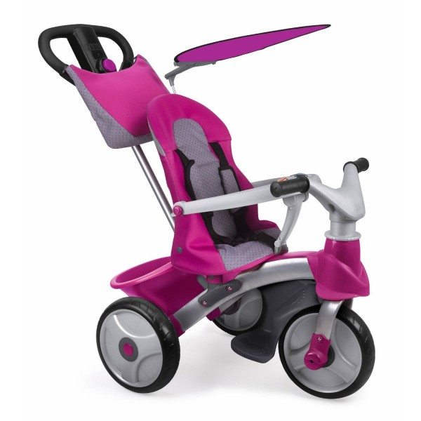 Tricycle Baby Trike Easy Evolution : Rose - Feber-800009561