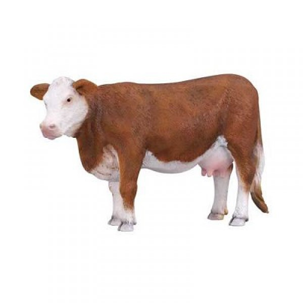 Figurine vache Hereford - Collecta-COL88235