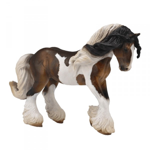 Figurine cheval : Étalon Tinker Pie - Collecta-COL88794