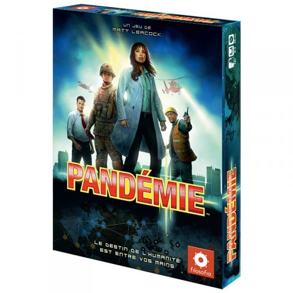 Pandémie Nouvelle Edition - Asmodee-FIPA01
