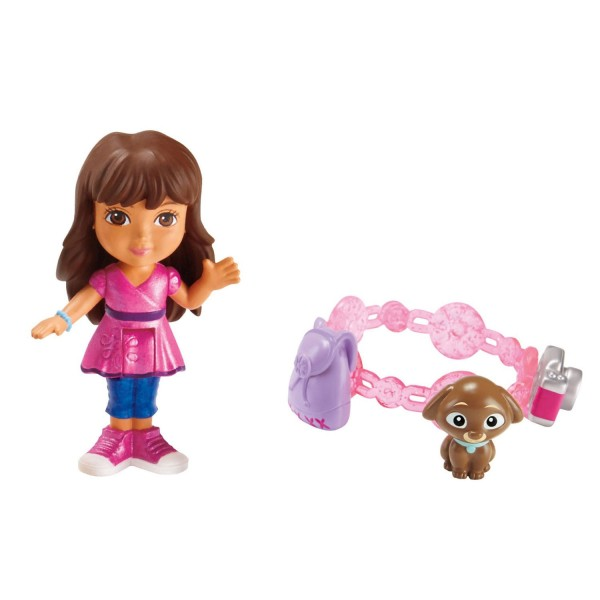 Figurine Dora and Friends : Dora Aventure Magique et charms - FisherPrice-BHT05-BHT06