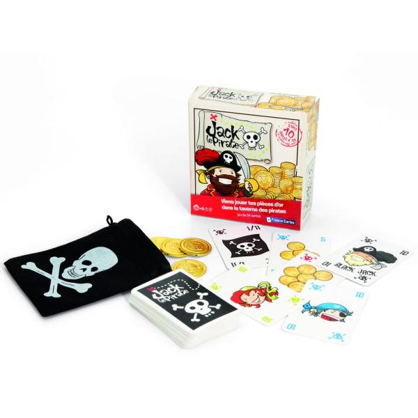 Jeu de 54 cartes : Jack le pirate - Jeux et jouets France Cartes ...