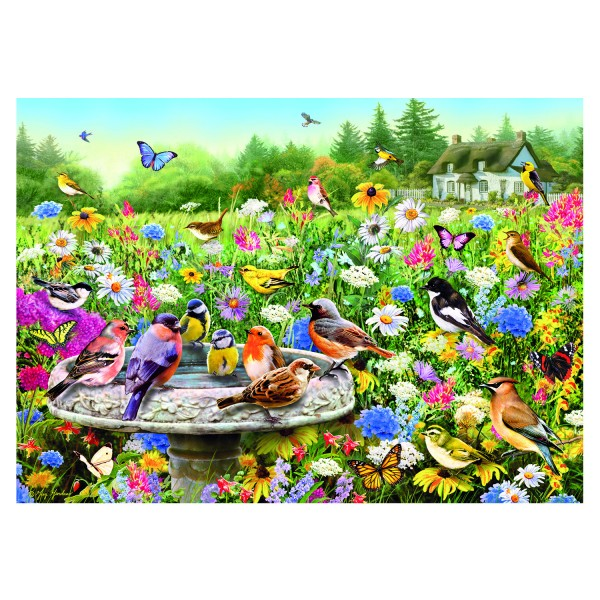 Puzzle 100 pièces XXL : Greg Giordano : Le jardin secret - Gibsons-G2210