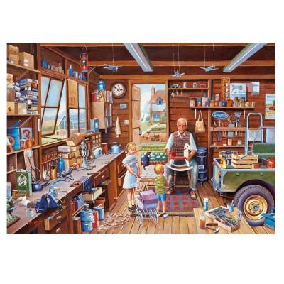 puzzle 1000 pi ces mike jeffries l 39 atelier de papy puzzle gibsons rue des puzzles. Black Bedroom Furniture Sets. Home Design Ideas