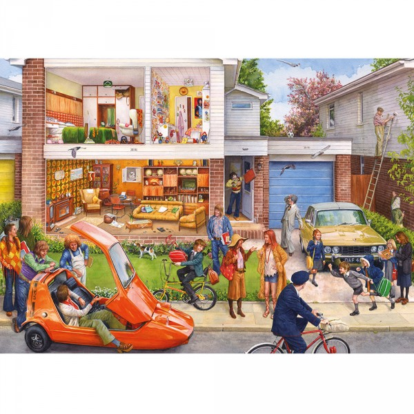 Puzzle 1000 pièces : Memory Lane : Our House 1970s - Gibsons-G7072