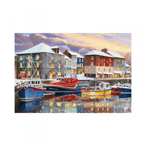 Puzzle 250 pièces : Padstow en Hiver - Gibsons-G2708