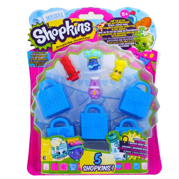 Coffret Shopkins n°10 : Blister 4 figurines - Giochi-1862-10