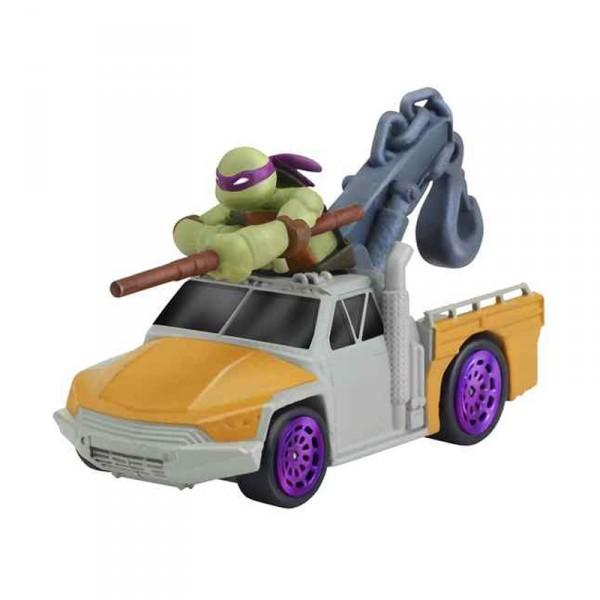 figurine vhicule tortues ninja t machines donnie in service truck giochi