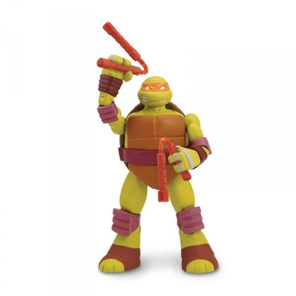Figurine fonction tortues ninja michelangelo jeux et - Tortue ninja michael angelo ...