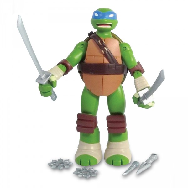 Figurine Tortues Ninja : Battle Shell 12 cm : Leonardo - Giochi-TUA00-6