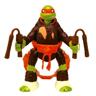 Figurine tortues ninja saut d 39 attaque michelangelo - Tortues ninja michelangelo ...