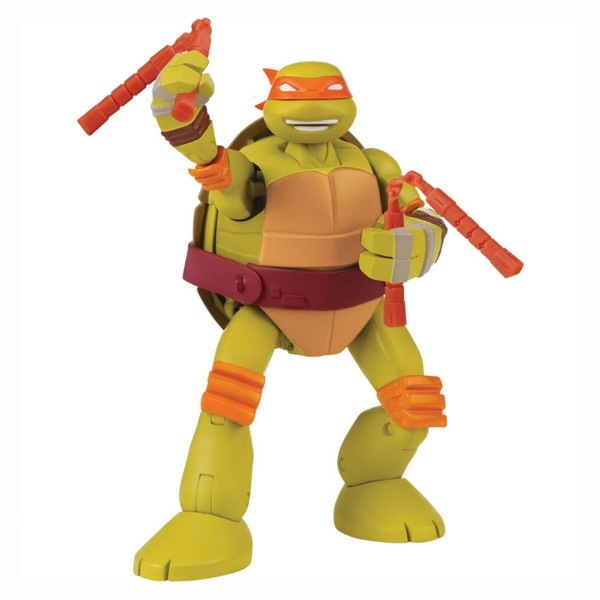 Figurine transformable tortues ninja michelangelo jeux - Michaelangelo tortue ninja ...