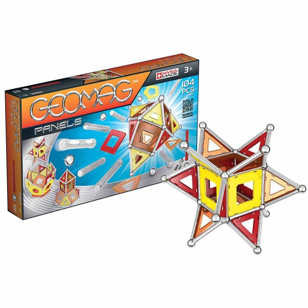Geomag Panels : 104 pièces - Giochi-GMP02