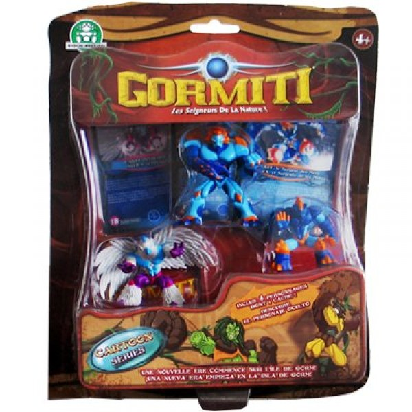 Gormiti - Jeu de cartes à collectionner : Cartes et Figurines : Toby - Giochi-7308-2