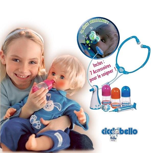 poup e soigner cicciobello bobo pour enfant avenue des. Black Bedroom Furniture Sets. Home Design Ideas