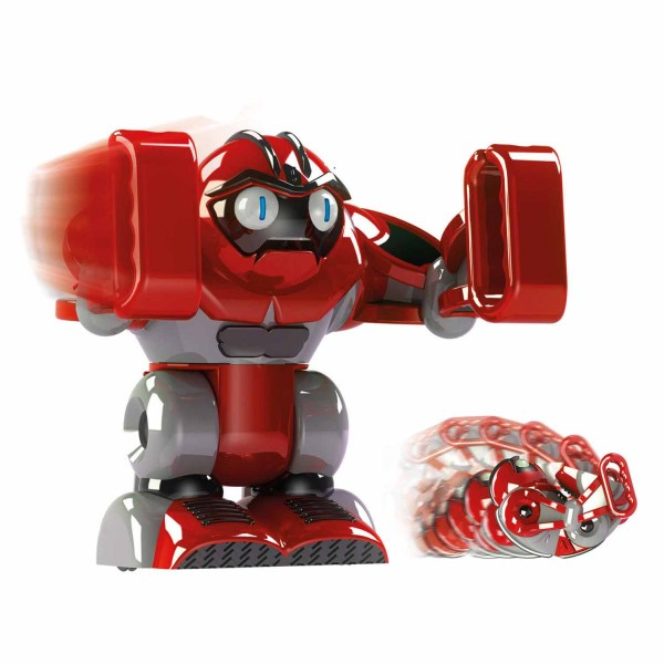 Robot Boombot humanoïde rouge - Giochi-BAM00