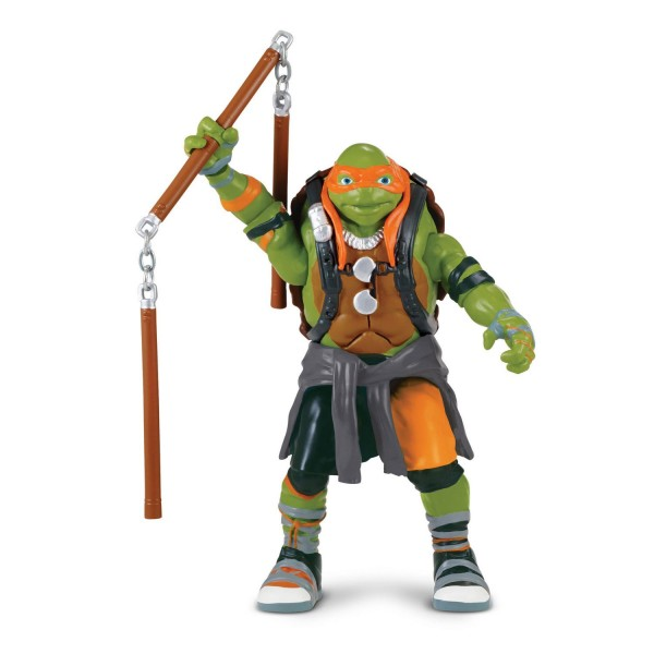 Figurine Tortues Ninja Out of the Shadow : Battle Sounds : Michelangelo - Giochi-TUV01-4