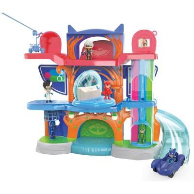 Quartier g n ral des pyjamasques jeux et jouets giochi preziosi avenue des jeux - Coffret coloriage cars leclerc ...