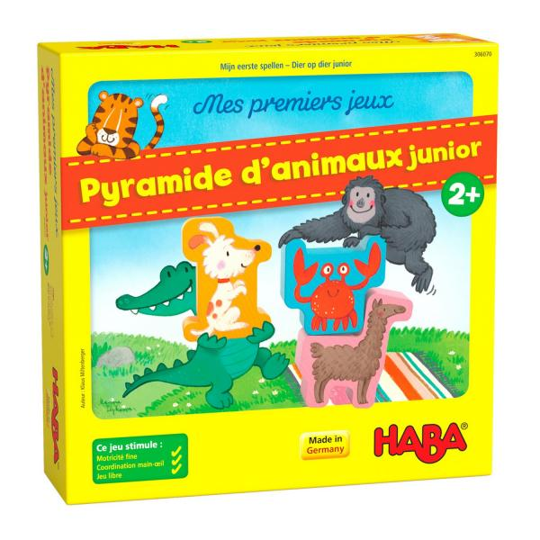 Pyramide d'animaux Junior - Haba-306070
